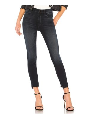 MOTHER The Stunner Zip Two Step Fray Jean