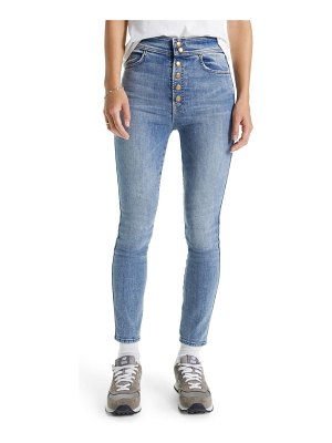 MOTHER the swooner high waist ankle skinny jeans