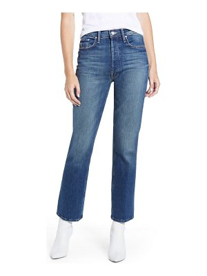 MOTHER the tripper high waist crop bootcut jeans