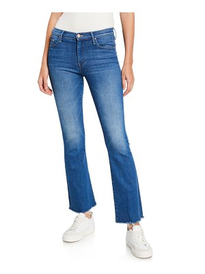 MOTHER The Weekender Fray Bootcut Jeans