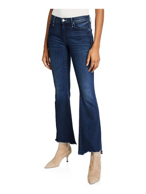 MOTHER The Weekender Fray Flare-Leg Jeans