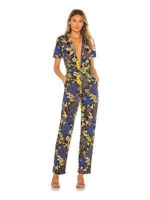 MOTHER the zippy ankle jumpsuit