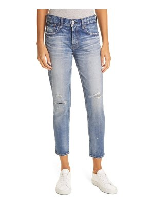 Moussy lancaster distressed ankle skinny jeans