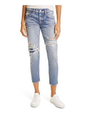 Moussy louisville distressed ankle skinny jeans