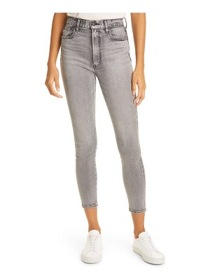 Moussy rebirth high waist ankle skinny jeans