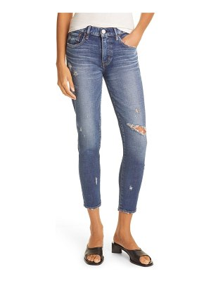 Moussy ripped gleedsville ankle skinny jeans