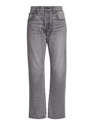 Moussy Vintage boothbay straight-leg ankle jeans