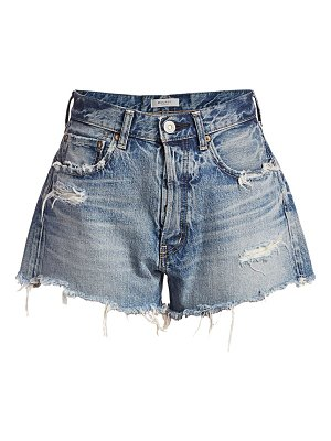 Moussy Vintage chester distressed denim shorts