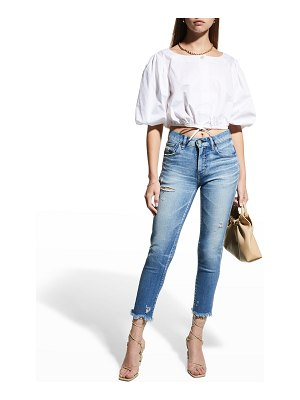 Moussy Vintage Diana Mid-Rise Skinny Jeans