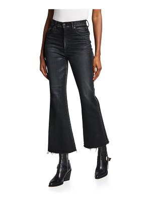 Moussy Vintage Granby Stretch Flare High-Rise Jeans