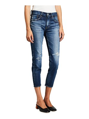 Moussy Vintage Lancaster Mid-Rise Cropped Skinny Jeans