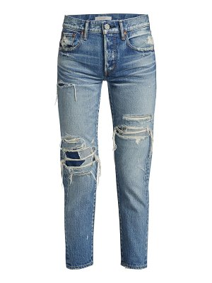 Moussy Vintage louisville tapered distressed jeans