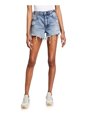 Moussy Vintage Packard High-Rise Shorts