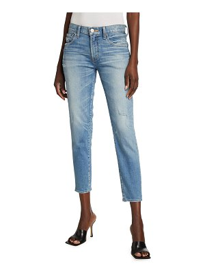 Moussy Vintage Velma Distressed Cropped Skinny Jeans