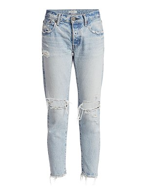 Moussy Vintage yardly tapered distressed jeans