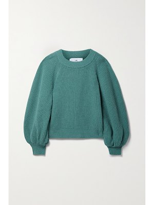 Mr Mittens ribbed wool and cashmere-blend sweater
