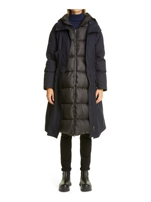 Mr & Mrs Italy 3-in-1 long down puffer parka