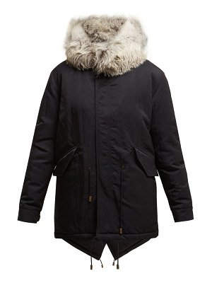 Mr & Mrs Italy Fox Fur Hooded Parka