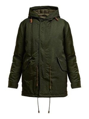 Mr & Mrs Italy Hooded Padded Parka Coat