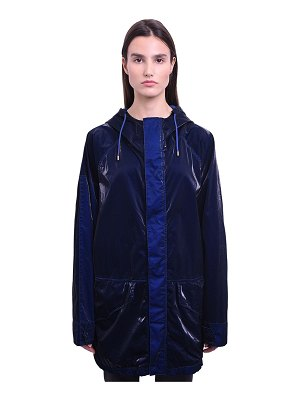 MR&MRS ITALY Long cotton velvet tech wind breaker