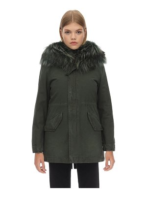 MR&MRS ITALY Slim parka w/detachable internal vest