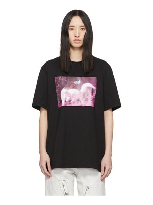 MSGM black cat t-shirt