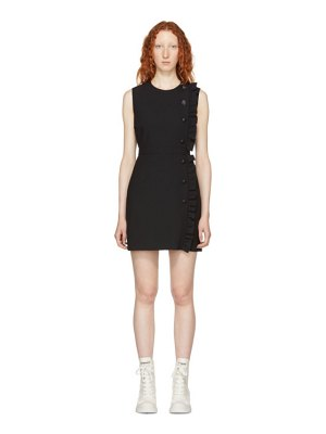 MSGM black ruffle dress