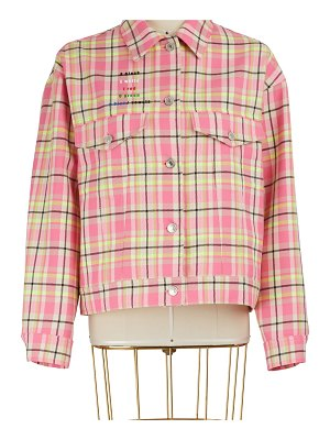 MSGM Checkered jacket