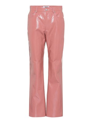 MSGM Coated pants