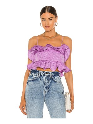 MSGM crinkled cloquet top