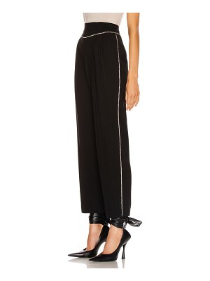 MSGM crystal trimmed trouser