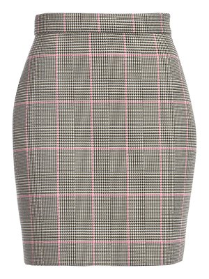 MSGM houndstooth mini skirt