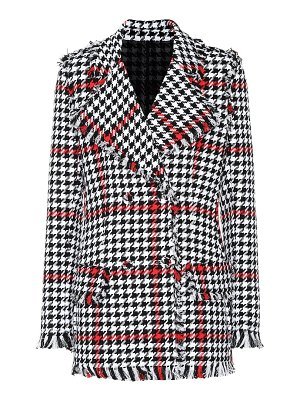 MSGM houndstooth tweed jacket