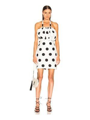MSGM Macro Polka Dot Printed Dress