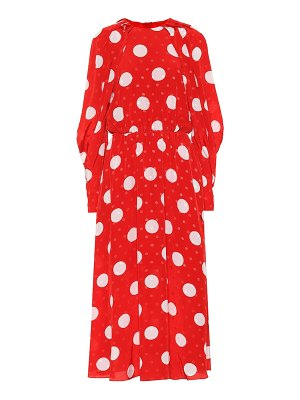 MSGM polka-dot midi dress