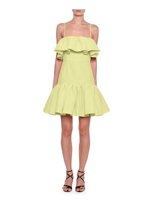MSGM Sleeveless Ruffle Dress
