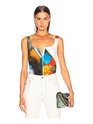 Mugler abstract top