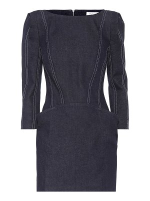 Mugler Denim minidress