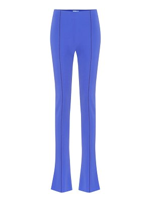 Mugler high-rise flared pants