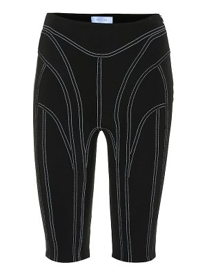 Mugler high-rise technical shorts