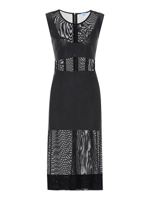 Mugler Mesh midi dress