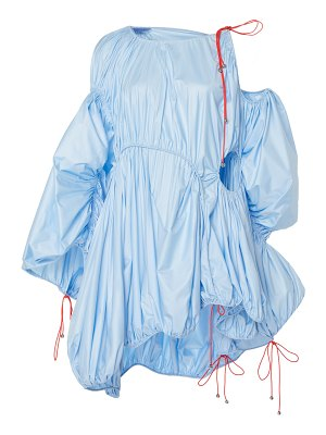 Mugler mini taffeta parachute dress