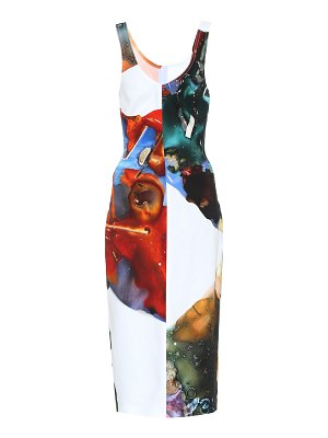 Mugler printed dress