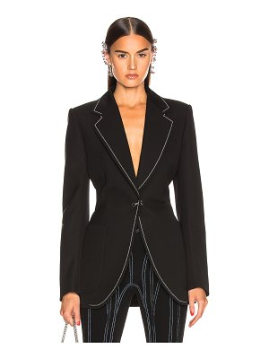 Mugler tailored blazer