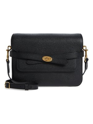 Mulberry bayswater pebbled leather crossbody bag
