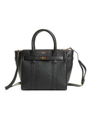 Mulberry mini zipped bayswater leather tote