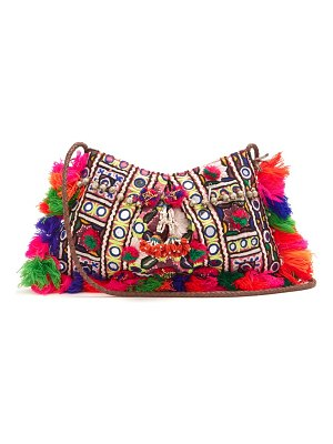 MUZUNGU SISTERS half moon embellished shoulder bag