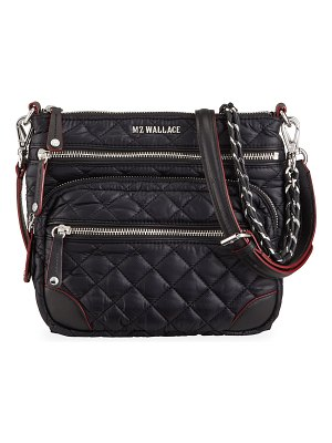 MZ Wallace Crosby Downtown Quilted Crossbody Bag
