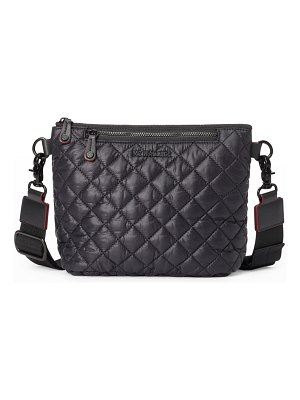 MZ Wallace Metro Scout Small Quilted Zip Crossbody Bag