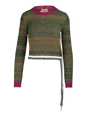 N 21 Colorblock sweater